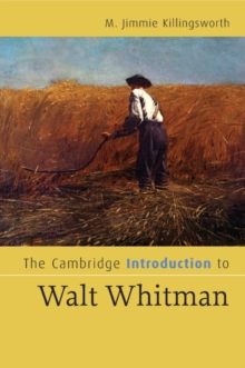 Image for The Cambridge introduction to Walt Whitman