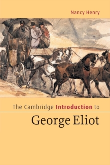 Image for The Cambridge introduction to George Eliot