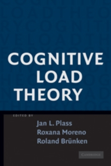 Image for Cognitive load theory