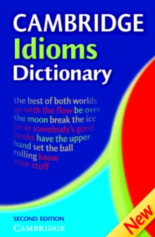 Image for Cambridge idioms dictionary