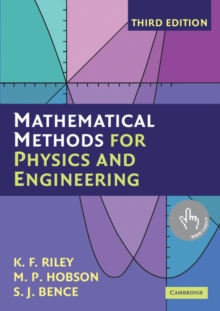 Image for Mathematical methods for physics and engineering
