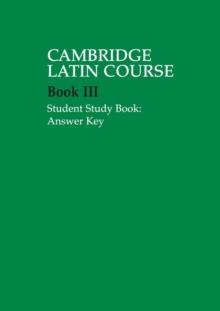 Image for Cambridge Latin courseBook III,: Student study book answer key