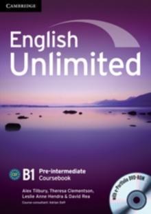 Image for English unlimited: B1 pre-intermediate coursebook with e-portfolio