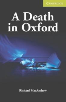 Image for A death in Oxford  : starter/beginner