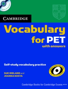 Image for Cambridge vocabulary for PET with answers  : self-study vocabulary practice