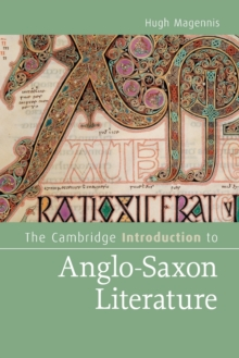 Image for The Cambridge introduction to Anglo-Saxon literature