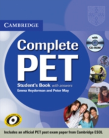 Image for Complete PET student's book with answers
