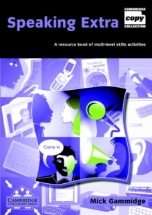 Image for Speaking extra  : a resource book of multi-level skills activities