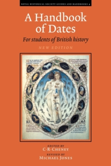 Image for A Handbook of Dates : For Students of British History