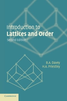 Image for Introduction to lattices and order
