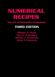 Image for Numerical recipes  : the art of scientific computing
