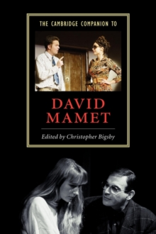 Image for The Cambridge companion to David Mamet