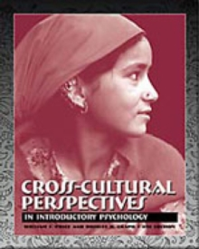 Image for Cross-Cultural Perspectives in Introductory Psychology (with InfoTrac)