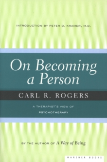 Image for On becoming a person: a therapist's view of psychotherapy