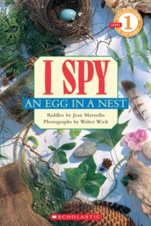 Image for Scholastic Reader Level 1: I Spy an Egg in a Nest