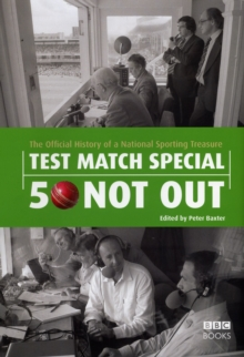 Image for Test match special  : 50 not out