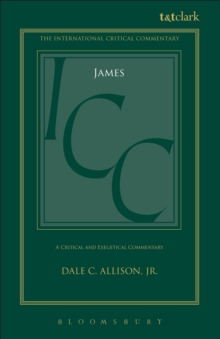 Image for James (ICC): a critical and exegetical commentary