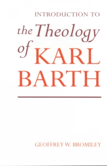 Image for An introduction to the theology of Karl Barth