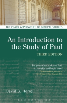 Image for An introduction to the study of Paul