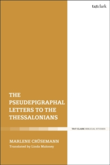 Image for The pseudepigraphal letters to the Thessalonians