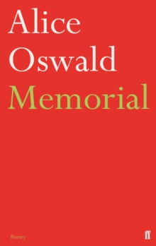 Image for Memorial  : an excavation of the Iliad