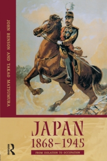 Image for Japan, 1868-1945  : from isolation to occupation