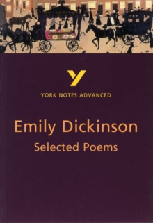 Image for Selected Poems of Emily Dickinson: York Notes Advanced