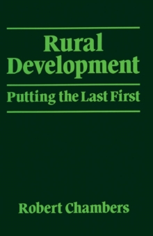 Image for Rural development  : putting the last first
