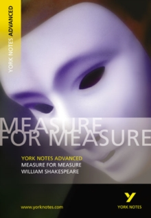 Image for Measure for measure, William Shakespeare  : notes