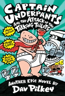 Image for Captain Underpants and the Attack of the Talking Toilets (Captain Underpants #2)