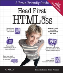 Image for Head first HTML and CSS