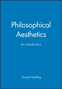 Image for Philosophical Aesthetics : An Introduction
