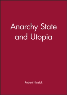 Image for Anarchy, state, and utopia