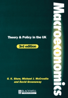 Image for Macroeconomics  : theory and policy in the UK