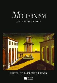Image for Modernism  : an anthology