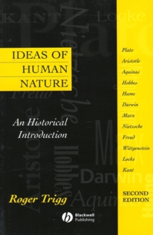 Image for Ideas of Human Nature : An Historical Introduction