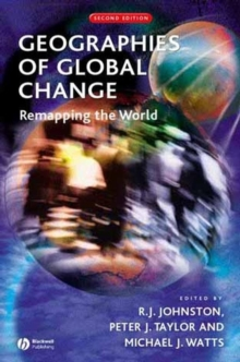 Image for Geographies of global change  : remapping the world