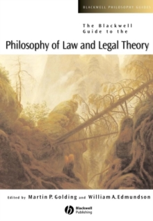 Image for The Blackwell guide to the philosophy of law and legal theory