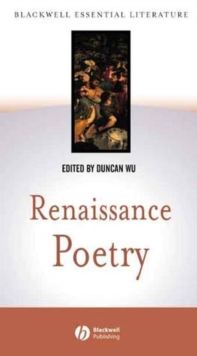Image for Renaissance poetry