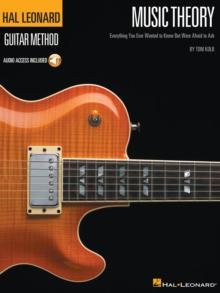 Image for Hal Leonard Guitar Method : Music Theory (Book/Online Audio)