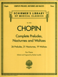 Image for Complete preludes, nocturnes and waltzes  : for piano