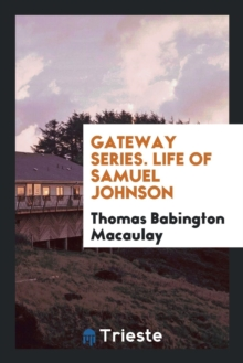 Image for Macaulay's Life of Samuel Johnson