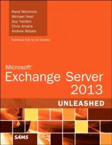 Image for Exchange server 2013 unleashed