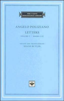 Image for LettersVol. 1: Books I-IV