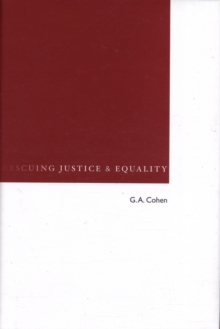 Image for Rescuing justice and equality