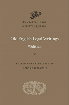 Image for Old English legal writings
