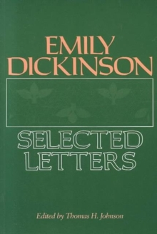 Image for Emily Dickinson : Selected Letters