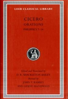 Image for Cicero: Philippics 7-14