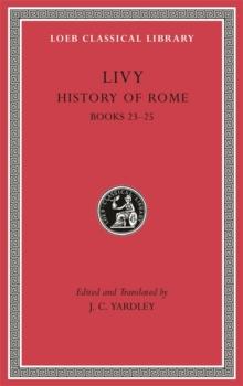 Image for History of Rome, Volume VI : Books 23-25