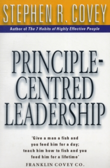 Image for Principle-centred leadership